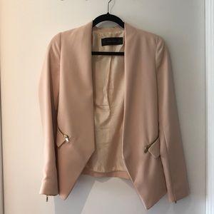 Zara zippered blazer - XS
